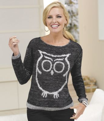 Such a Hoot Sweater