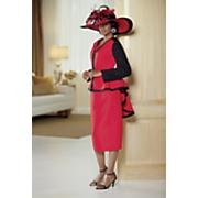 Mykonos Hat and Patti Skirt Suit