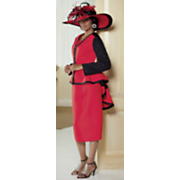 Mykonos Hat and Patti Skirt Suit