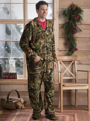 Camo Footed Pajamas by Trailcrest from Seventh Avenue | 714714