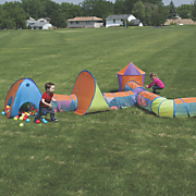 Pop Up Play Tent & Tunnel Town
