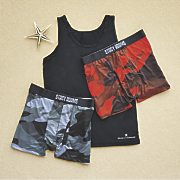 3-Pack Boxers and Tank Set by Stacy Adams