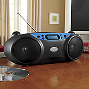 boombox style music player