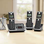 3-Handset Digital Cordless Phone and Answering Machine System by RCA