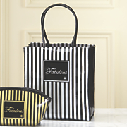 midnight velvet signature small tote