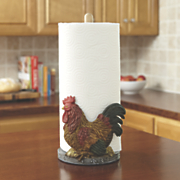 rooster paper towel holder 58