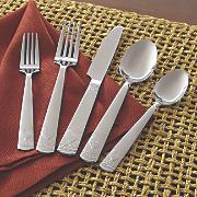 20 pc casa rustica flatware