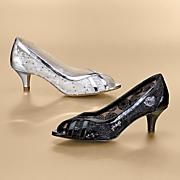Cleo Glitter Mesh Shoe