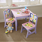 butterfly table chair set