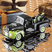 1948 ford f 1 pickup with motorcycle by fairfield mint
