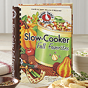 Gooseberry Patch slow cooker fall favorites Cookbook