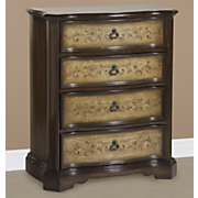 4-Drawer Hand-Painted Chest