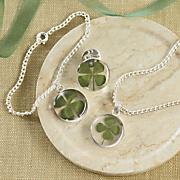 4 leaf clover jewelry
