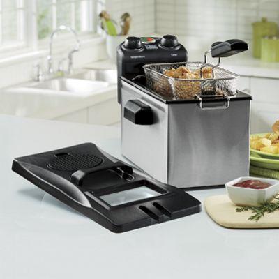 3.5-Quart Elite Deep Fryer & Set of 3 Filters