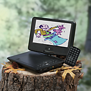 portable dvd player with 9 lcd screen by gpx