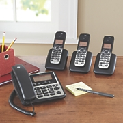 motorola corded cordless phone system and answering machine