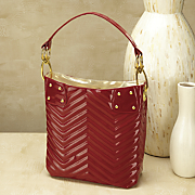 quilted chevron bag 124