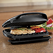 grill and panini maker by george foreman