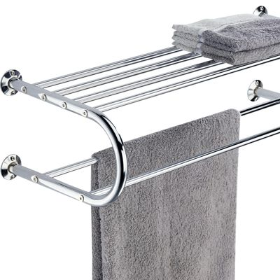 Mounting Shelf with Towel Bar