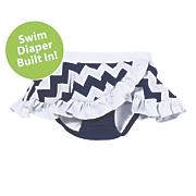 sun smarties seahorse swim diaper skirt