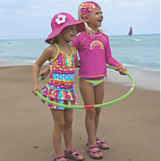 Sun Smarties Rainbow Swimwear Collection