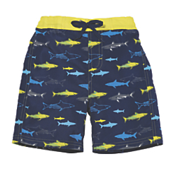 sun smarties shark swim trunks