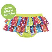 sun smarties rainbow swim diaper skirt