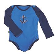 sun smarties long sleeve nautical swimsuit