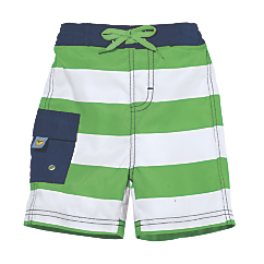 sun smarties nautical swim trunks