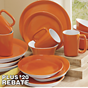 Rachael Ray 16-Piece Round & Square Dinnerware Set
