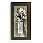 a house blessing framed wall art