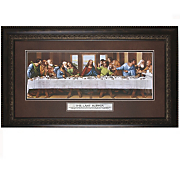 the last supper the lord framed art