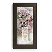 faith hope love framed wall art