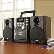 Jensen Portable Music System with Detachable Speakers
