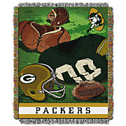 NFL Vintage Series Tapestry Throw
