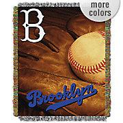 MLB Vintage Series Tapestry Throw