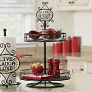 live laugh love lazy susan