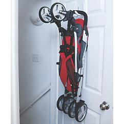 strollaway stroller storage hook