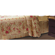 Antique Rose Bedskirt