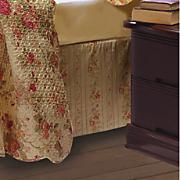 antique rose bedskirt