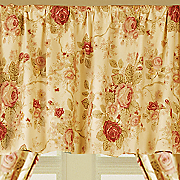antique rose valance