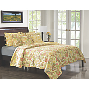 Sunset Paisley Quilt Set