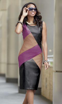 Rue Colorblock Dress