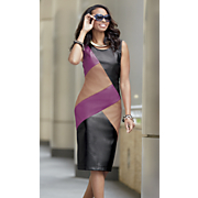 rue colorblock dress