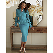 camilla lace skirt suit
