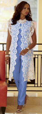 Whitney Lace Pant Set