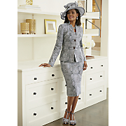 artina sinimay hat and artina jacket dress