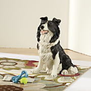 border collie statue