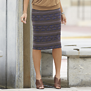 adobe falls pencil skirt