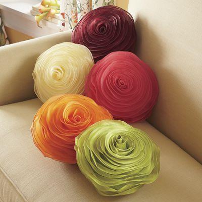 Petite Rose Decor Pillow